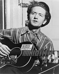 The famous American Folksinger Woodie Guthrie was diagnosed with Huntington's disease when he was 40.