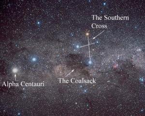 Alpha centauri, the nearest star to the sun